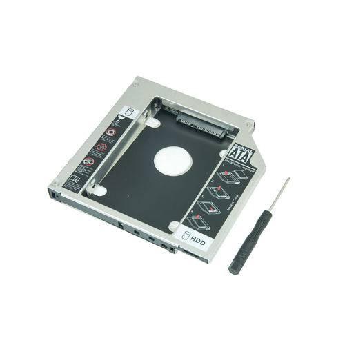 Tudo sobre 'Adaptador Caddy para Segundo HD ou Ssd 9.5mm P/ Notebook'