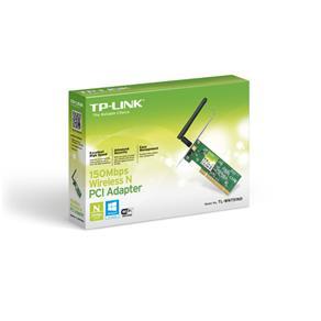 Adaptador PCI TP-Link TL-WN751ND Wireless N 150Mbps Interface 32-bit PC - Antena 2dBi
