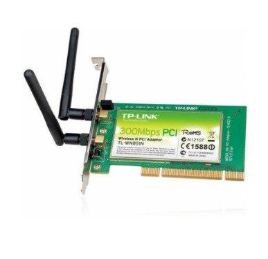 Adaptador TP-Link Wireless 300Mb PCI TL-WN851ND