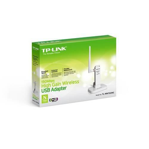 Tudo sobre 'Adaptador USB TP-Link Tl-Wn722nc Wireless'