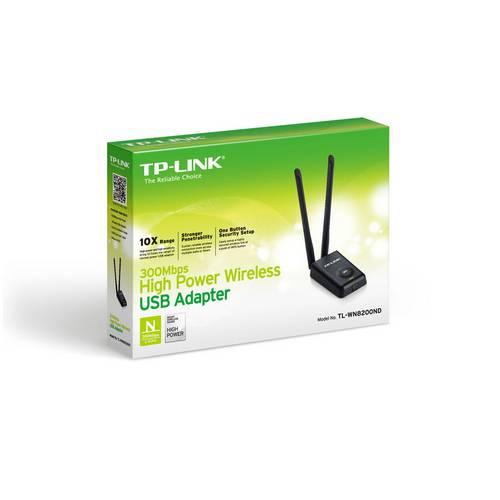 Tudo sobre 'Adaptador USB Wireless de Alta Potência de 300Mbps'