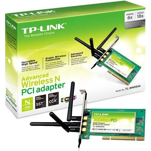 Adaptador Wireless PCI WN951N - TP-Link