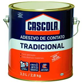 Adesivo Cascola Trad Sem Toluol 2,8 Kg