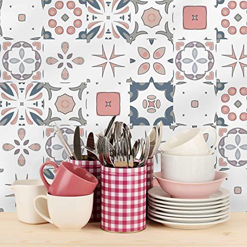 Adesivo de Azulejo 20x20 para Cozinha Bragança 24un