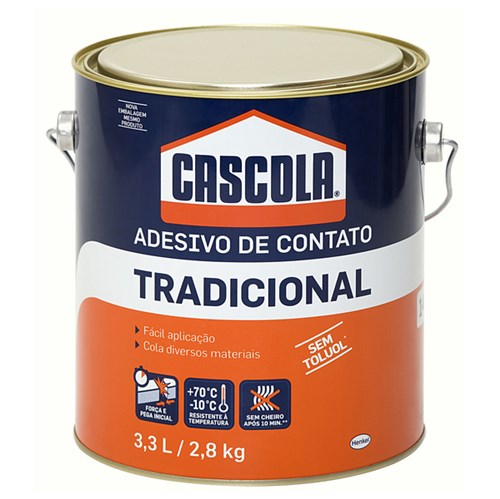 Adesivo de Contato Cascola 2,8kg Henkel