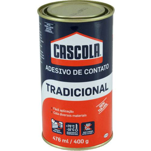 Adesivo de Contato Cascola Tradicional 476 Ml / 400 Gr