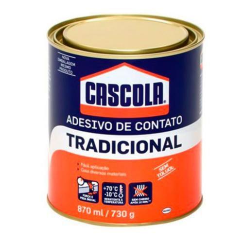 Adesivo de Contato Cascola Tradicional - 730g - Henkel