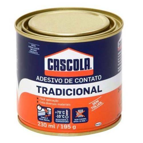 Adesivo de Contato Tradicional Cascola 230ml 195g