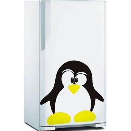 Adesivo de Geladeira Pinguim Amigo