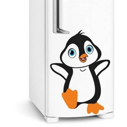 Tudo sobre 'Adesivo de Geladeira Pinguim Bebe'