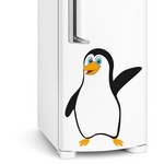 Adesivo de Geladeira Pinguim Charmoso