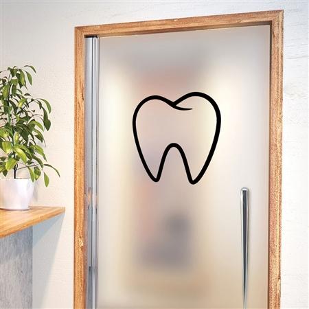 Adesivo de Parede Dente