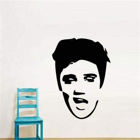 Adesivo de Parede Elvis Presley 3
