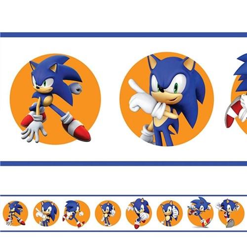 Adesivo de Parede Faixa Sonic 3