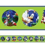 Adesivo de Parede Faixa Sonic 1