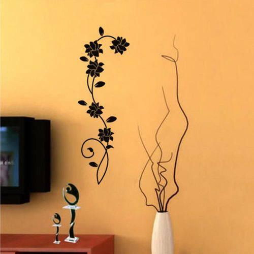 Adesivo de Parede - Flores - 193nt