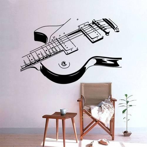 Adesivo de Parede Guitarra 2