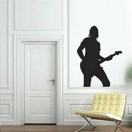 Adesivo de Parede Guitarrista 2