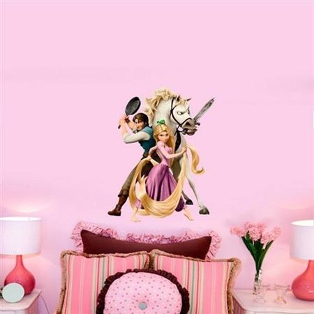 Adesivo de Parede Infantil Rapunzel 2