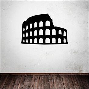 Adesivo Decorativo de Parede - Coliseu - Azul Marinho