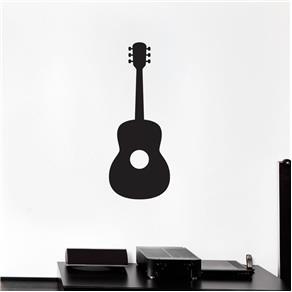 Adesivo Decorativo de Parede - Música - Violão - Marrom