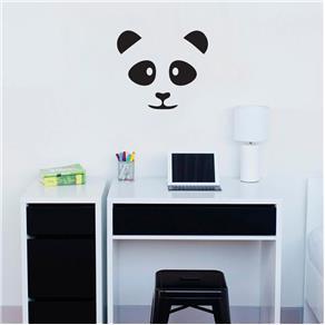 Adesivo Decorativo de Parede - Panda - Marrom