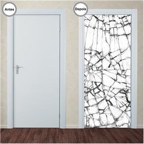 Adesivo Decorativo de Porta - Abstrato - 301pt
