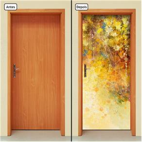 Adesivo Decorativo de Porta - Abstrato - 1016cnpt