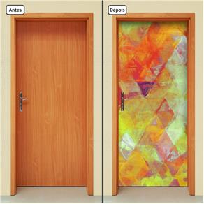Adesivo Decorativo de Porta - Abstrato - 1220cnpt