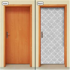 Adesivo Decorativo de Porta - Abstrato - 130cnpt