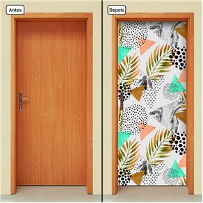 Adesivo Decorativo de Porta - Abstrato - 1317cnpt