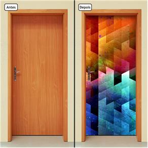 Adesivo Decorativo de Porta - Abstrato - 1221cnpt