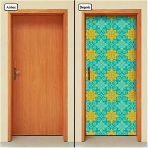 Adesivo Decorativo de Porta - Abstrato - 1401cnpt