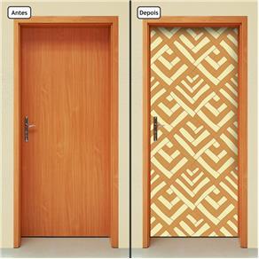 Adesivo Decorativo de Porta - Abstrato - 1407cnpt