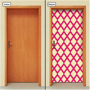 Adesivo Decorativo de Porta - Abstrato - 1403cnpt