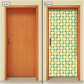 Adesivo Decorativo de Porta - Abstrato - 1402cnpt