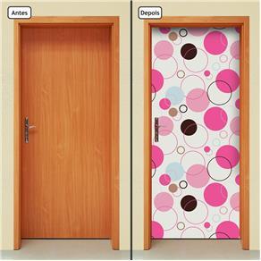 Adesivo Decorativo de Porta - Abstrato - 1430cnpt