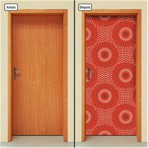 Adesivo Decorativo de Porta - Abstrato - 1410cnpt