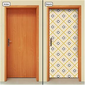 Adesivo Decorativo de Porta - Abstrato - 1411cnpt