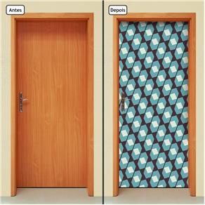 Adesivo Decorativo de Porta - Abstrato - 1414cnpt