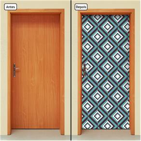 Adesivo Decorativo de Porta - Abstrato - 1416cnpt