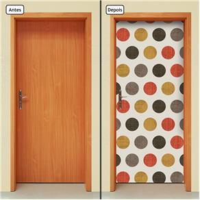 Adesivo Decorativo de Porta - Abstrato - 1413cnpt