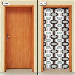 Adesivo Decorativo de Porta - Abstrato - 1412cnpt