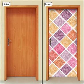 Adesivo Decorativo de Porta - Abstrato - 1448cnpt