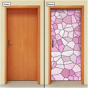 Adesivo Decorativo de Porta - Abstrato - 1244cnpt