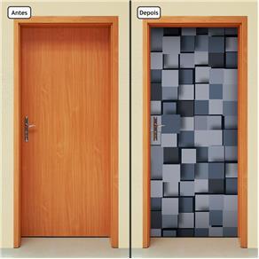 Adesivo Decorativo de Porta - Abstrato - 1245cnpt