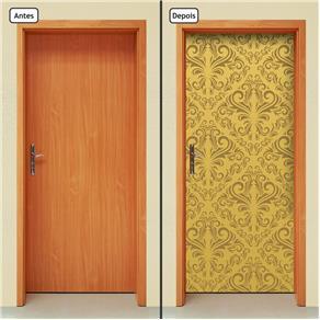 Adesivo Decorativo de Porta - Abstrato - 1435cnpt