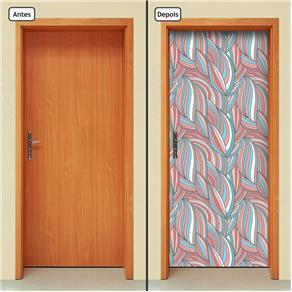 Adesivo Decorativo de Porta - Abstrato - 1482cnpt
