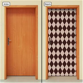 Adesivo Decorativo de Porta - Abstrato - 1429cnpt