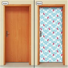 Adesivo Decorativo de Porta - Abstrato - 1422cnpt
